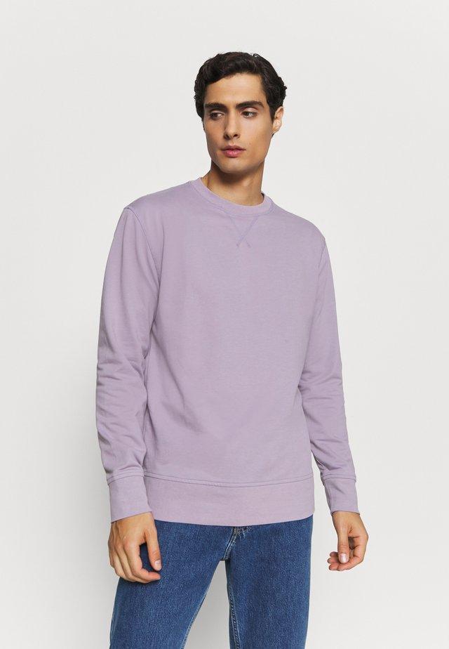 CORE TEMP TERRY CREW - Sweatshirt - smokey violet