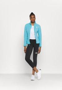 The North Face - GLACIER FULL ZIP - Fleece jacket - maui blue - 1