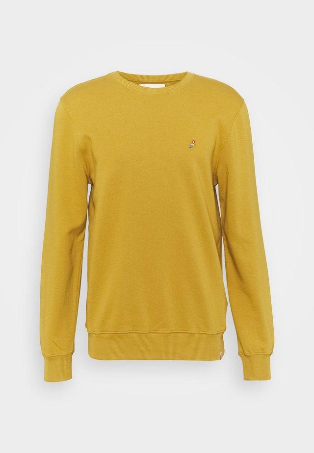 CREWNECK - Collegepaita - yellow