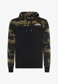 AÉROPOSTALE - AERO FL-87  - Jersey con capucha - black - 4