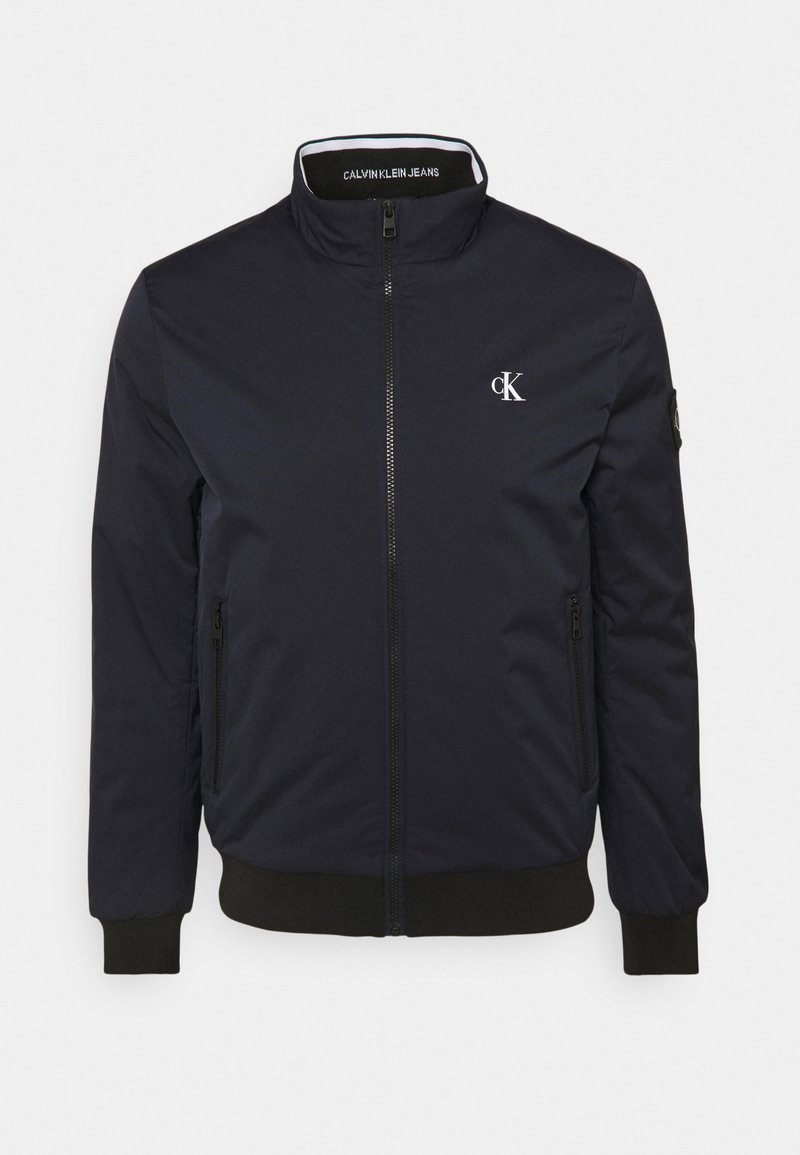 Calvin Klein Jeans - HARRINGTON PADDED JACKET - Light jacket - blue