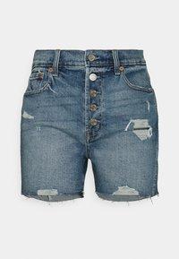GAP - DARRO DEST - Denim shorts - medium wash - 0