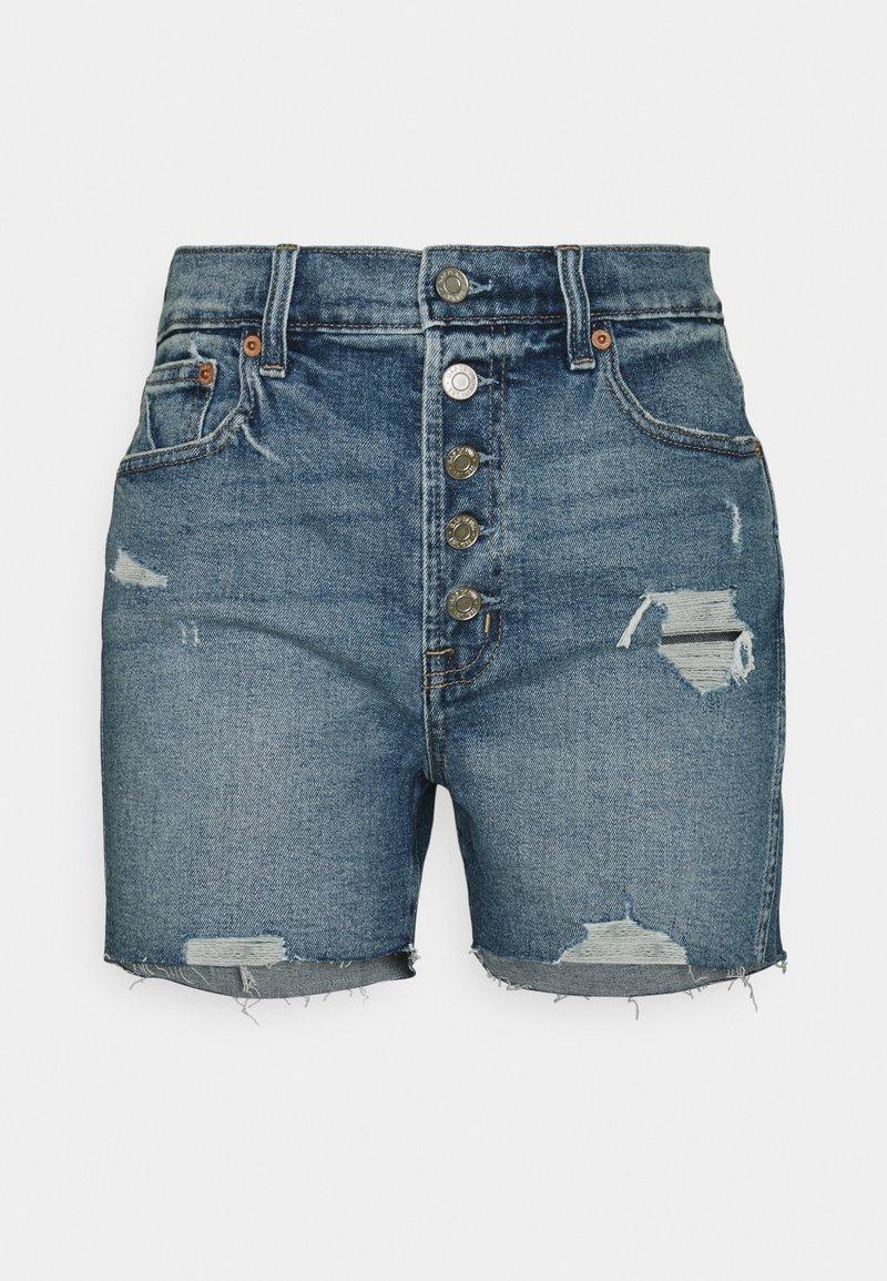 GAP - DARRO DEST - Denim shorts - medium wash
