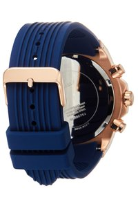 Guess - MENS SPORT MULTIFUNCTION - Watch - blue/rose gold-coloured - 1