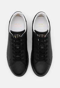 Armani Exchange - CLEAN CUPSOLE - Trainers - black - 3