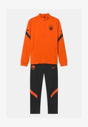 AS ROM SET UNISEX - Club wear - safety orange/black