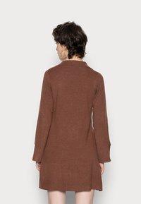 Fashion Union - JEN - Gebreide jurk - chocolate brown - 2