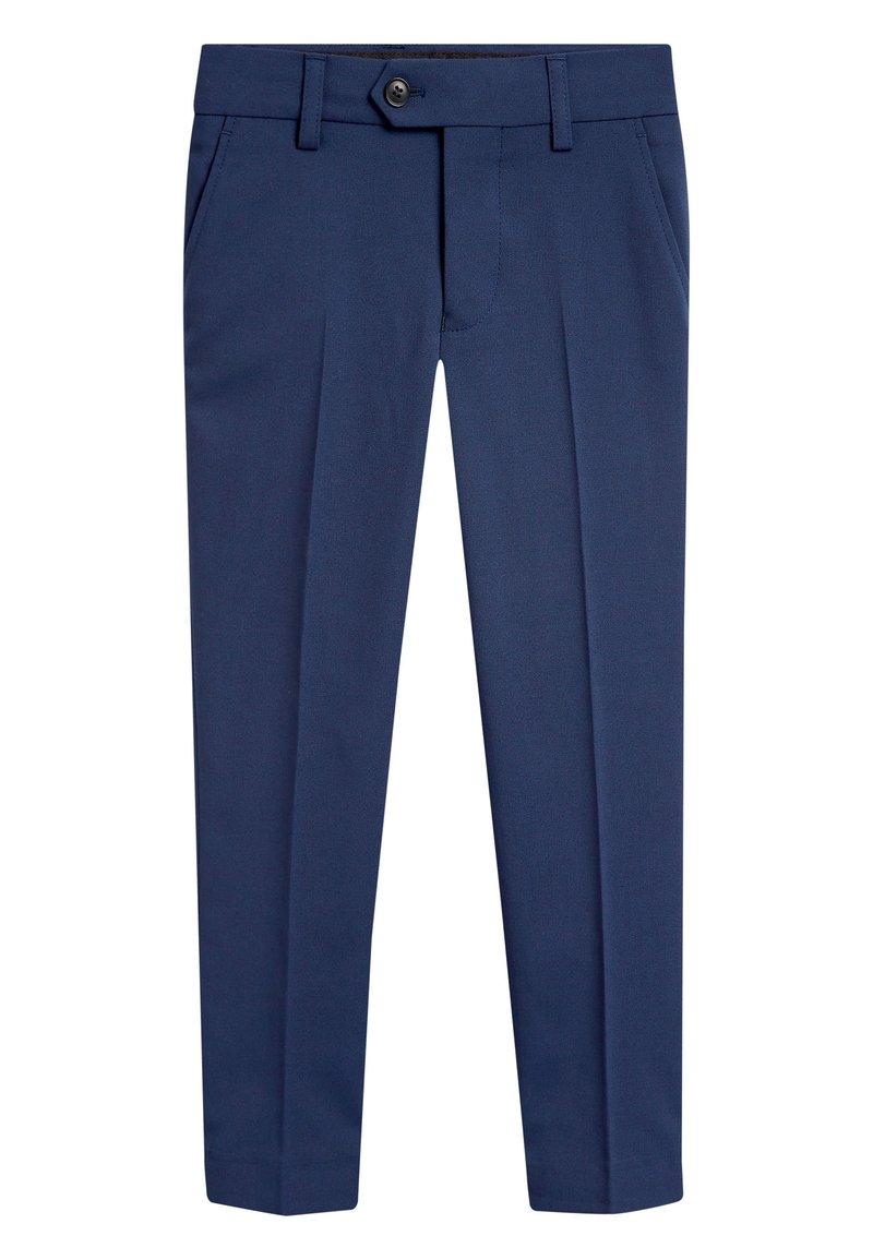 Next - Oblekové kalhoty - blue