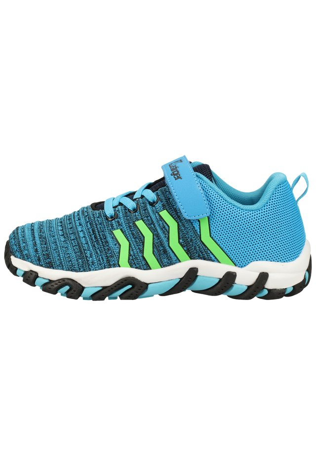 KASTINGER WANDERSCHUHE - Baskets basses - blue/black 416