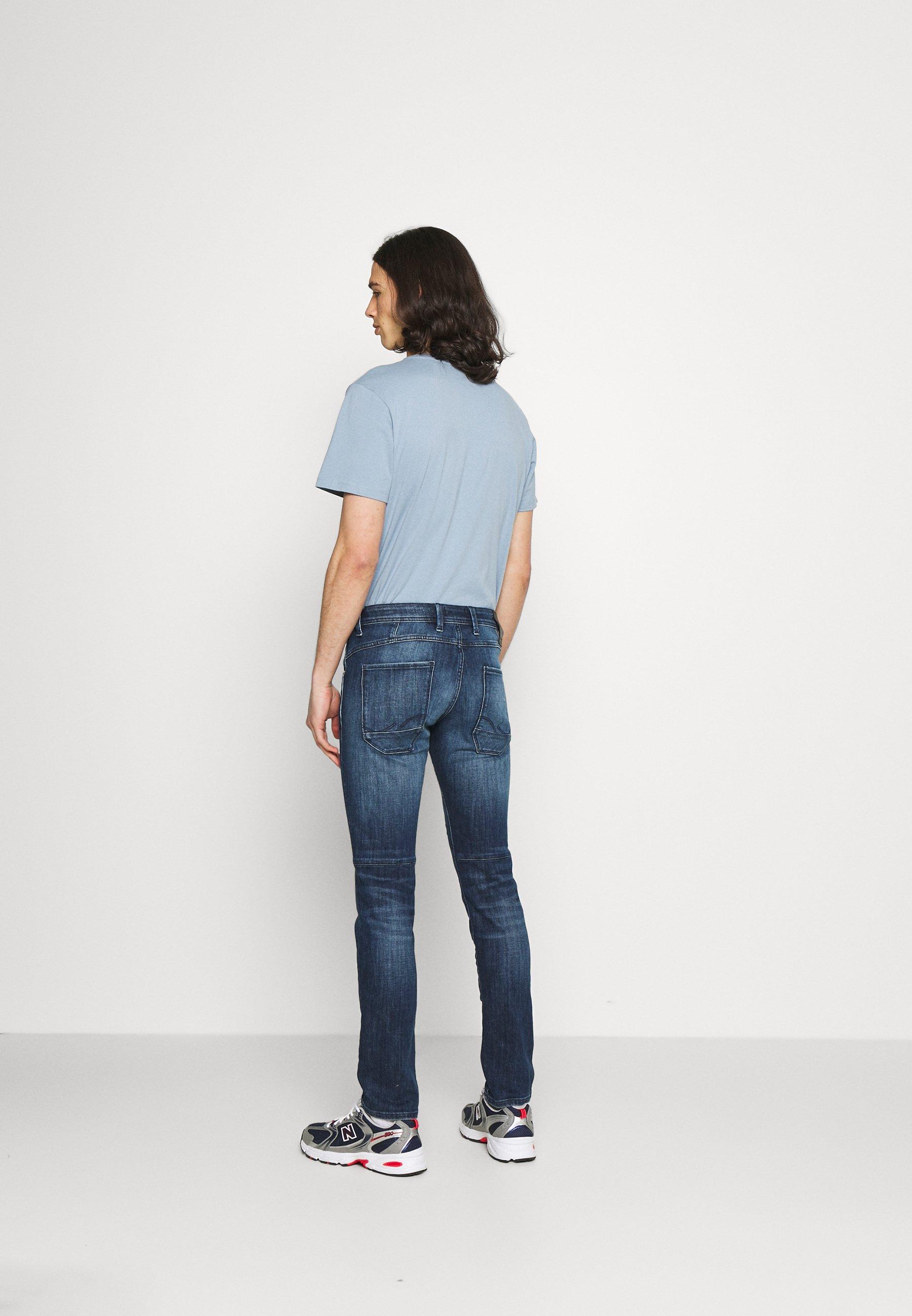 Men JIGLENN JJSCALE - Slim fit jeans