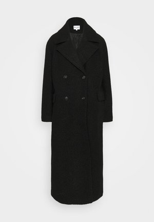 MAXI COAT - Kåpe / frakk - black