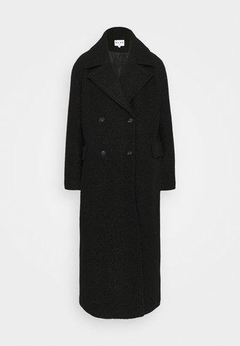 MAXI COAT - Classic coat - black