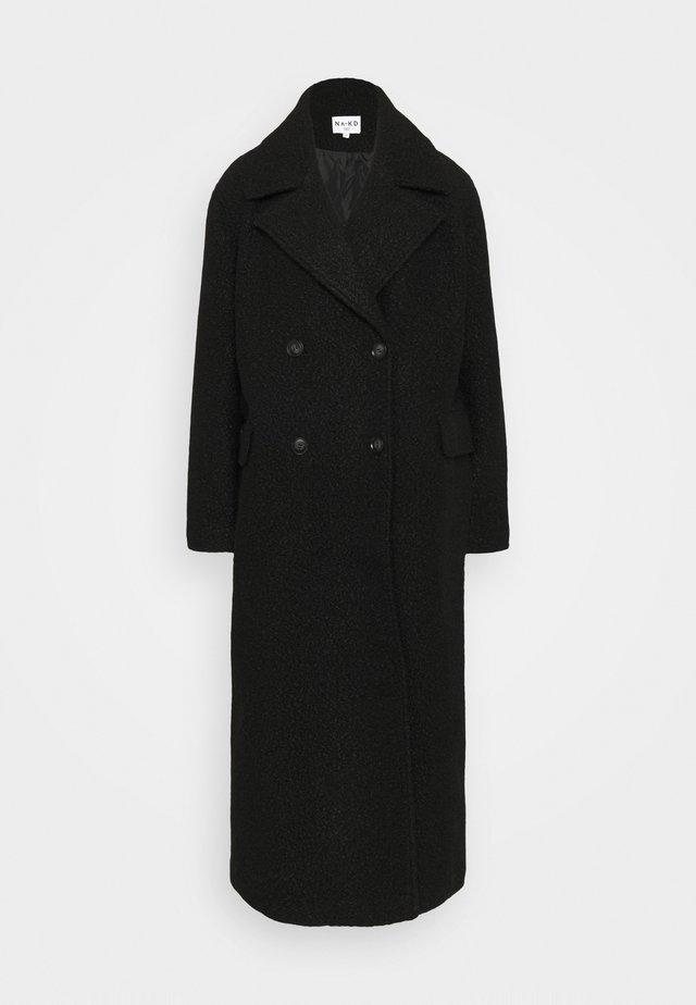 MAXI COAT - Manteau classique - black