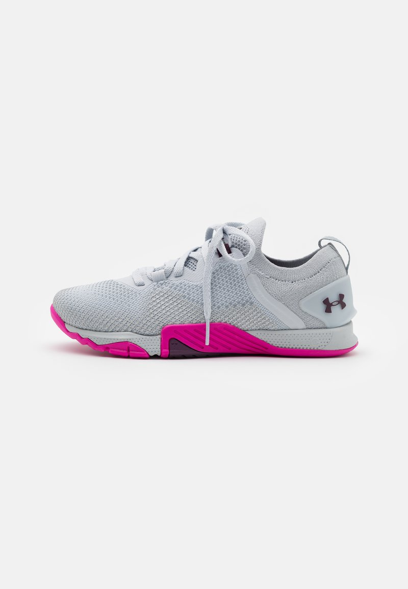Under Armour - TRIBASE REIGN 3 - Sports shoes - halo gray