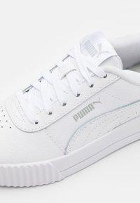 Puma - CARINA - Trainers - white/gray/violet - 5