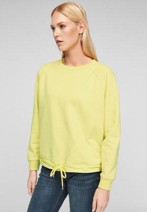 Sweatshirt - lime yellow