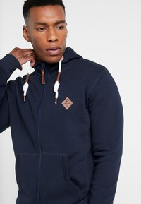 INDICODE JEANS - QUINBY - Sweatjacke - navy - 4