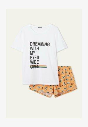 Pyjama set - bianco st.rainbow