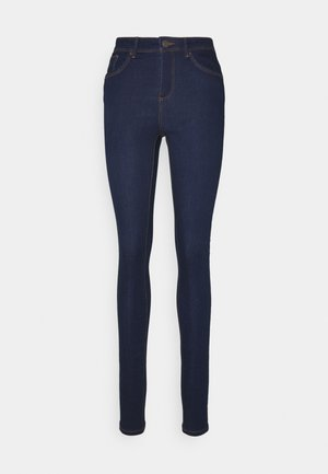 VMTANYA PIPING  - Jeans Skinny Fit - dark blue