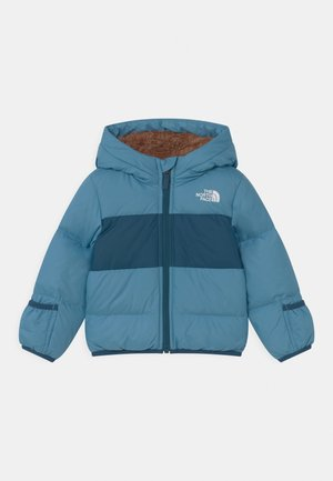 INFANT MOONDOGGY HOODIE UNISEX - Down jacket - niagara blue