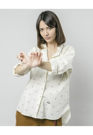 LET'S SWING AGAIN - Button-down blouse - white