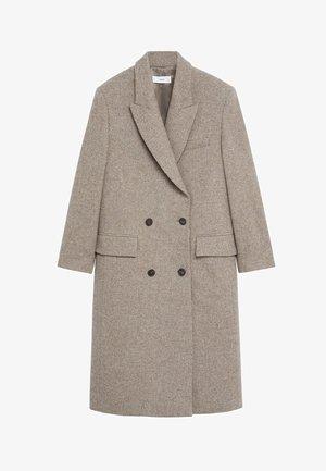 BLACKY - Classic coat - kaffeebraun