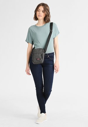 THE ONE - Across body bag - black denim