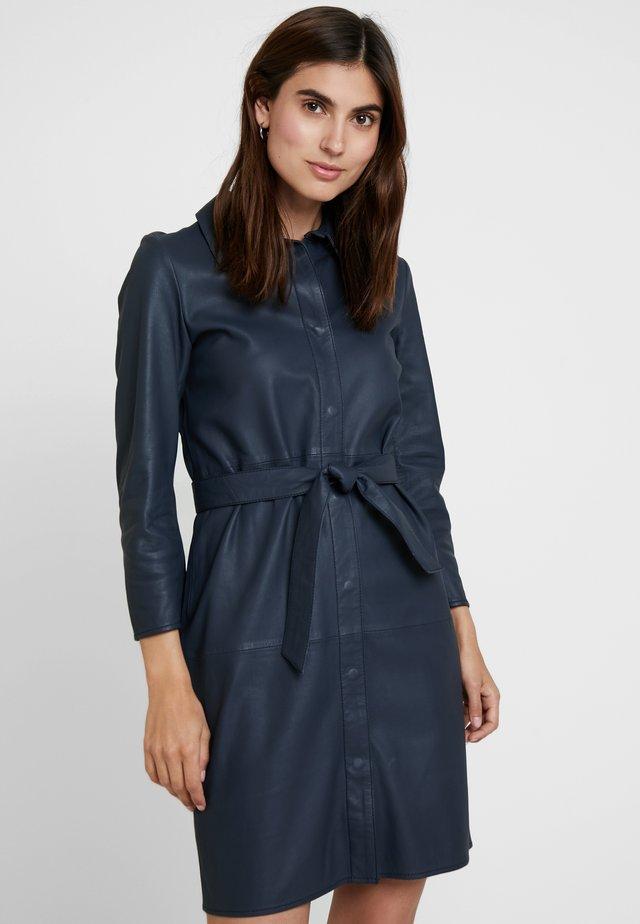 ROSE - Vestido camisero - blue