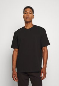 Topman - 3 PACK - Basic T-shirt - black/grey/blue - 4