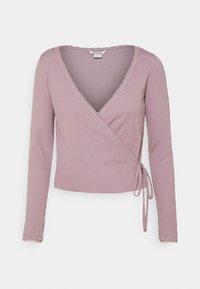 Monki - Langærmede T-shirts - lilac/purple dusty light - 5