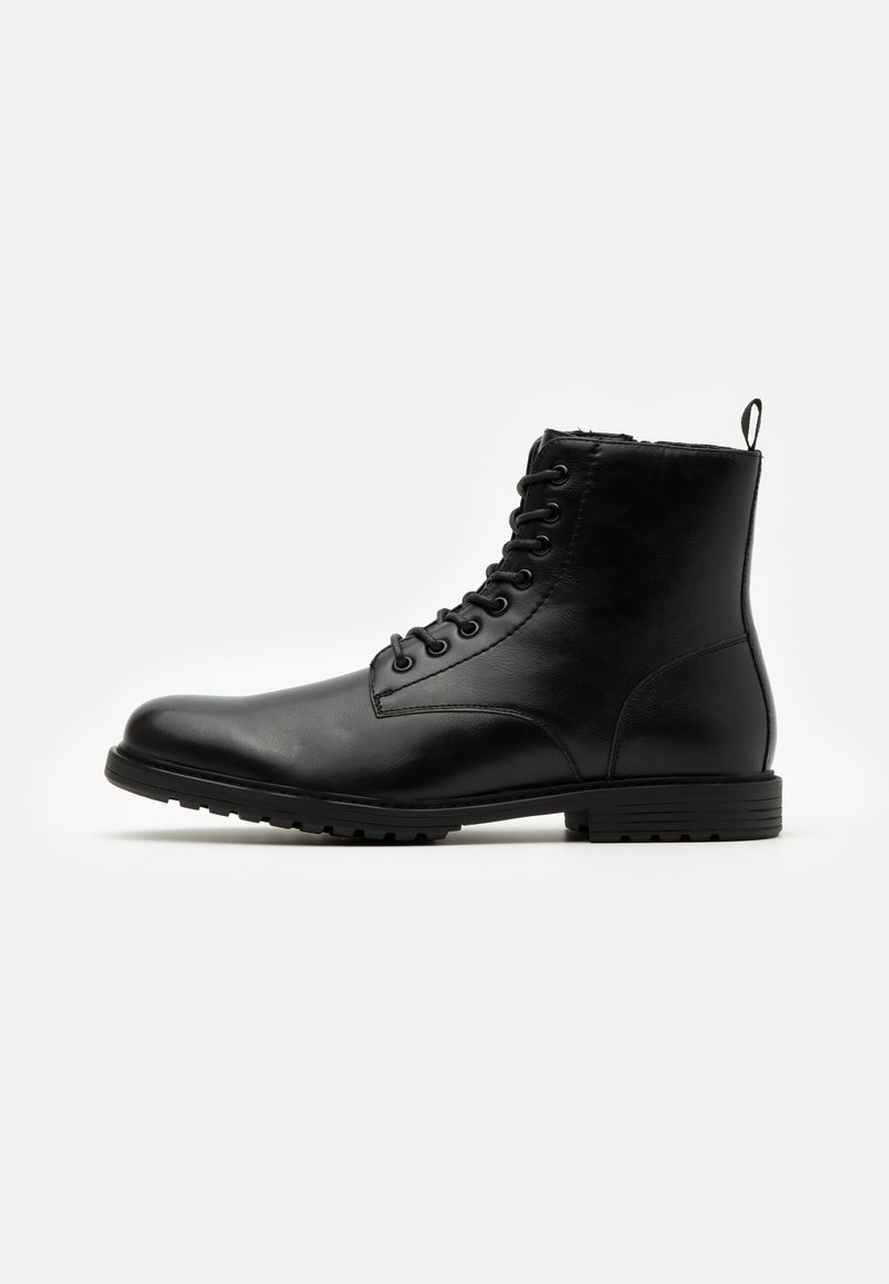 Pier One - Lace-up ankle boots - black