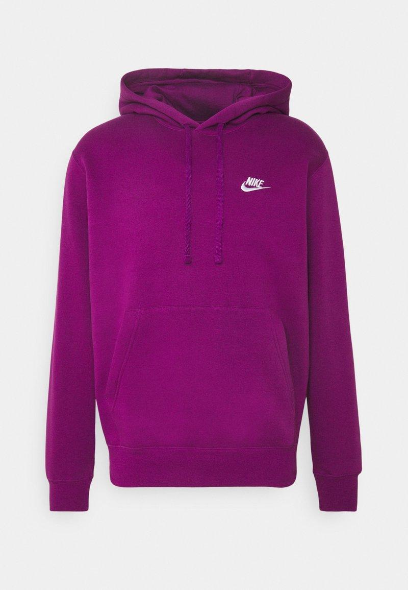 Nike Sportswear - CLUB HOODIE - Hættetrøjer - viotech/white