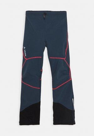 PERFORMANCE PANTS - Długie spodnie trekkingowe - steelblue