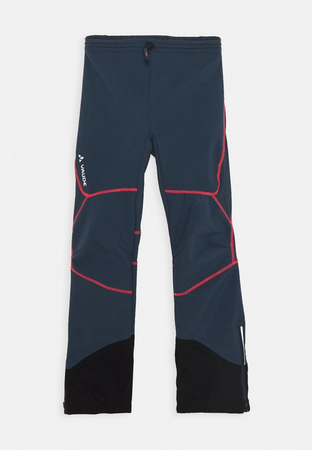PERFORMANCE PANTS - Outdoor trousers - steelblue