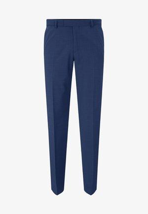 MERCER - BAUKASTEN HOSE - Suit trousers - marina blau