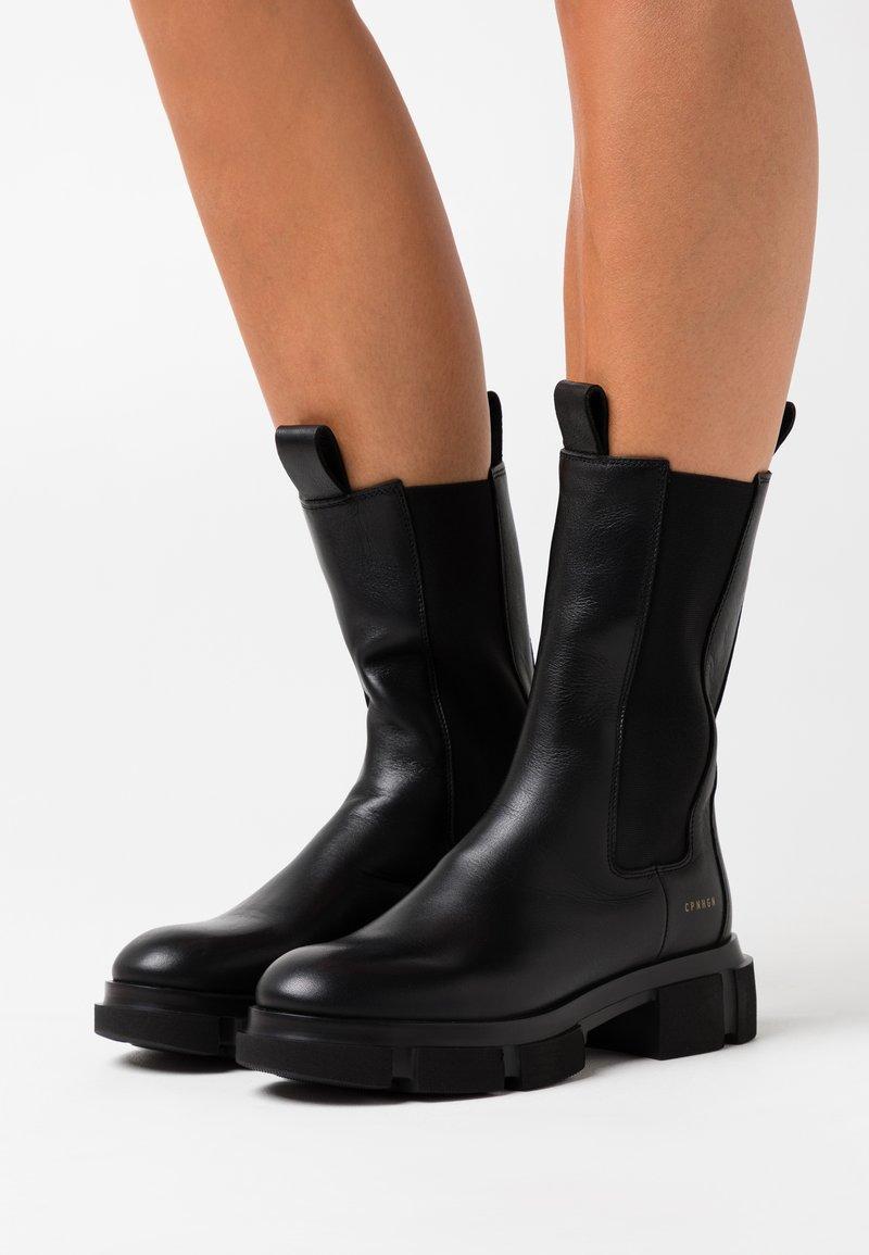 Copenhagen - CPH500 - Platform boots - black