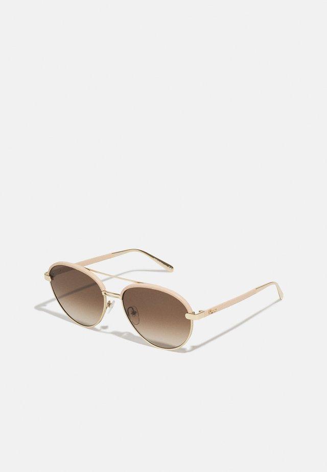 Solglasögon - gold-coloured/nude