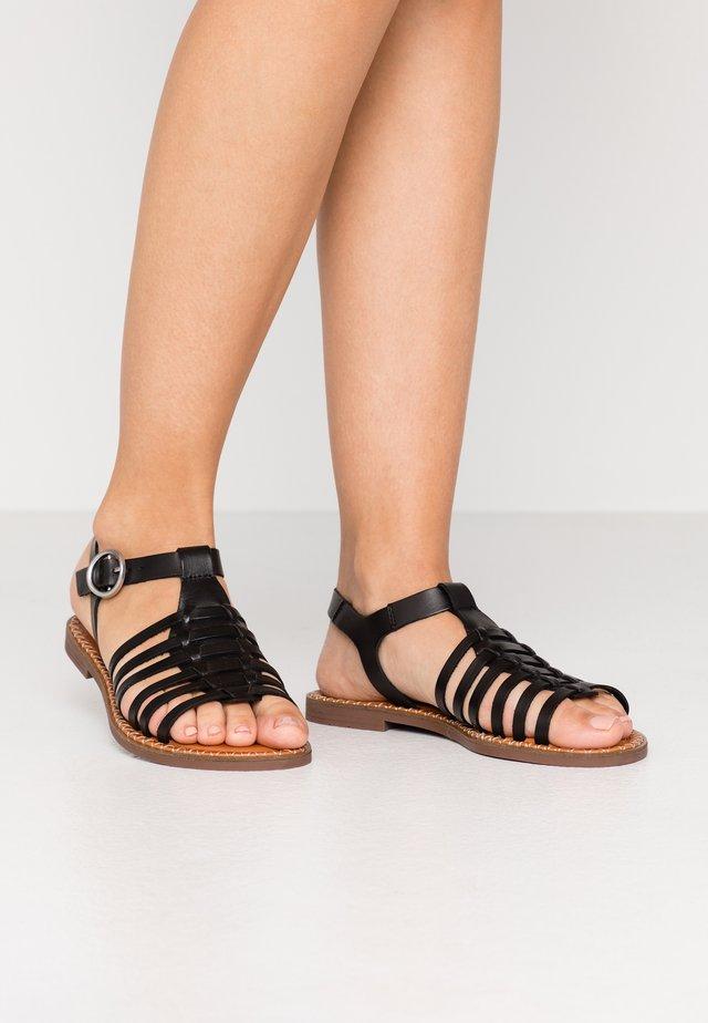 LUCIA - Sandals - black
