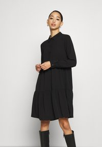 JDY - JDYPIPER DRESS - Shirt dress - black - 0