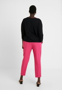 Simply Be - PRESS TROUSER - Kalhoty - pink - 3