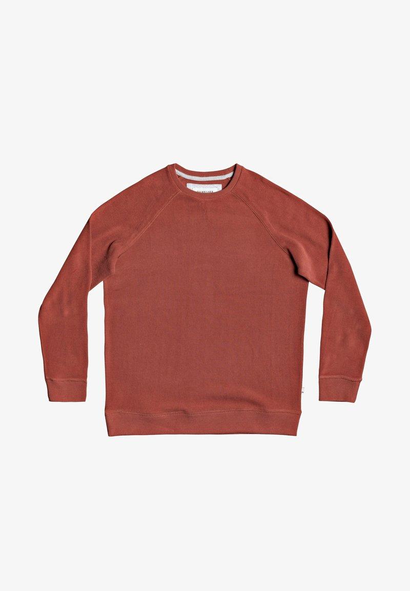 Quiksilver - TOOLANGI SLATE - Sweatshirt - henna