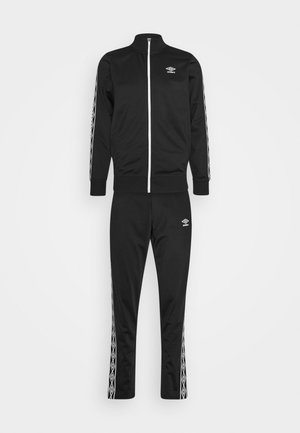 ACTIVE STYLE TAPED TRACKSUIT - Tracksuit - black/white