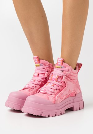 ASPHA MID - Sneaker high - pink