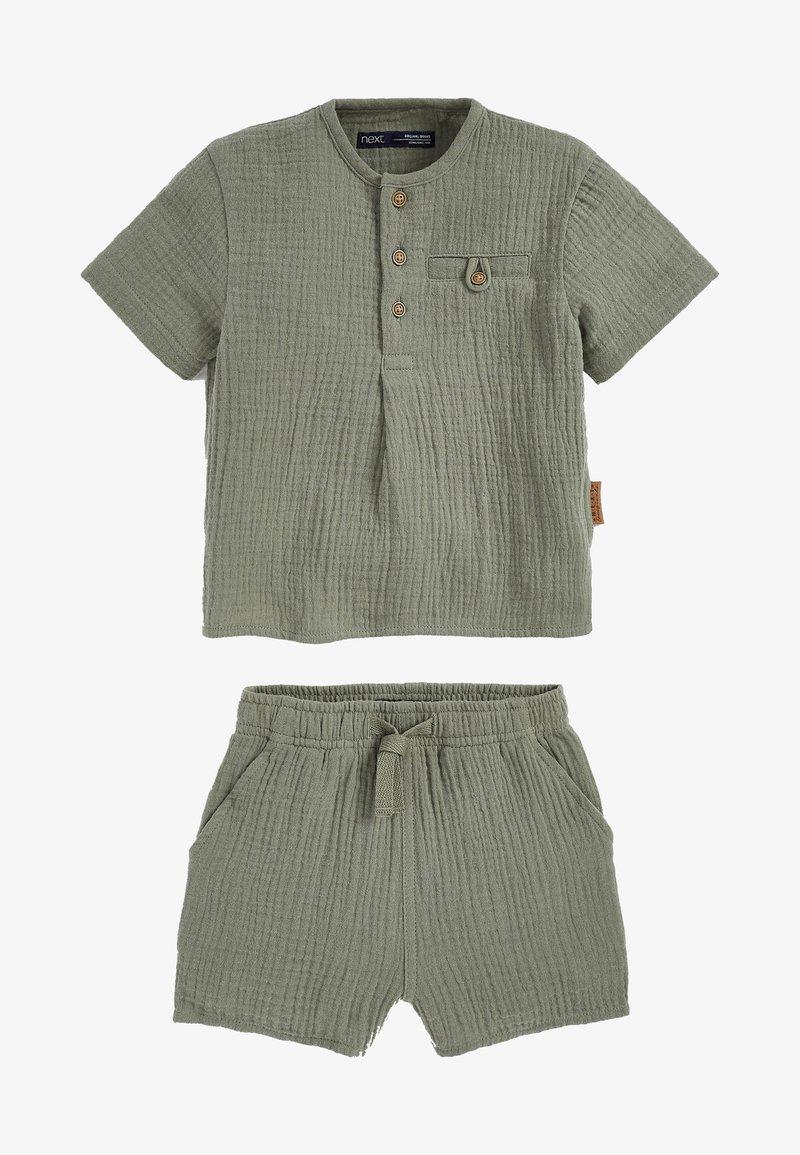 Next - SET - Shorts - khaki