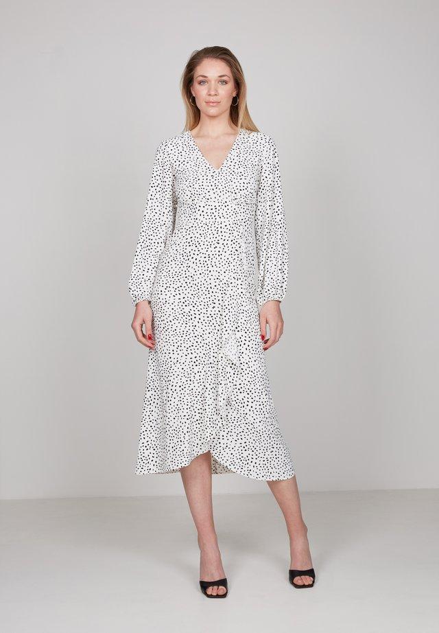 Korte jurk - white, black