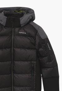Icepeak - LOMBARD UNISEX - Snowboardjakke - black - 4