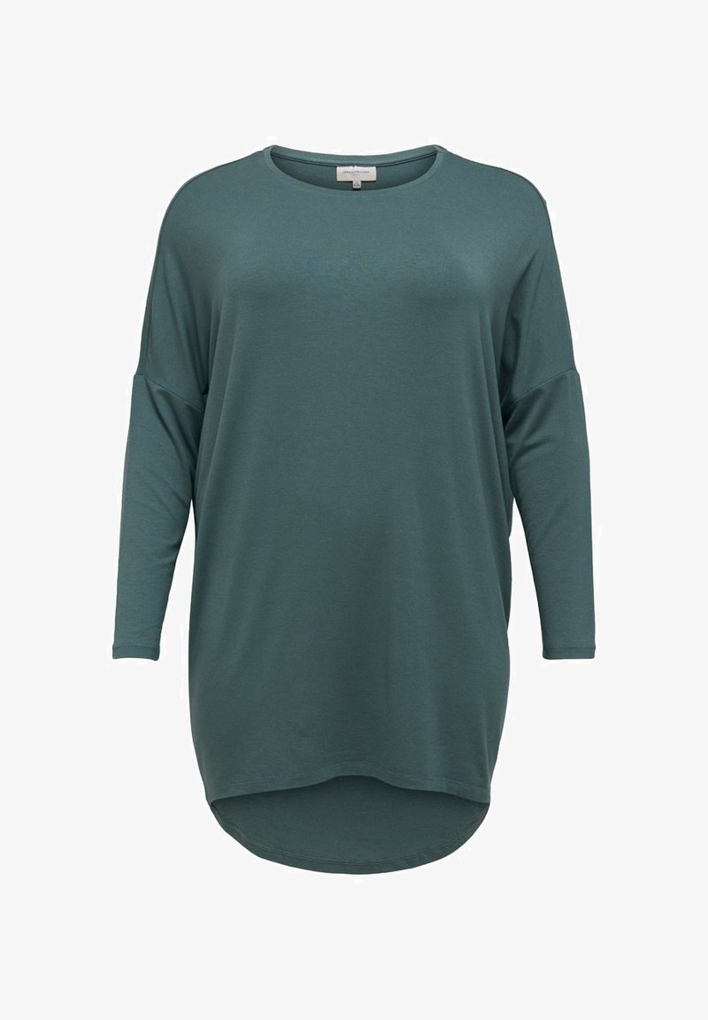 ONLY Carmakoma - CARCARMA LONG - Long sleeved top - balsam green