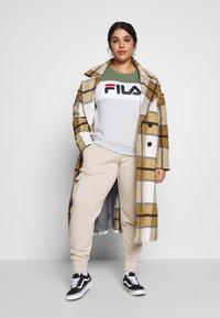 Fila Plus - LEAH CREW - Sweater - sea spray/light grey melange/bright white - 1