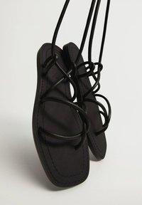 Mango - Sandals - schwarz - 4