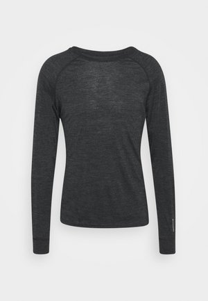 ACTIVIST CREW - Long sleeved top - true black